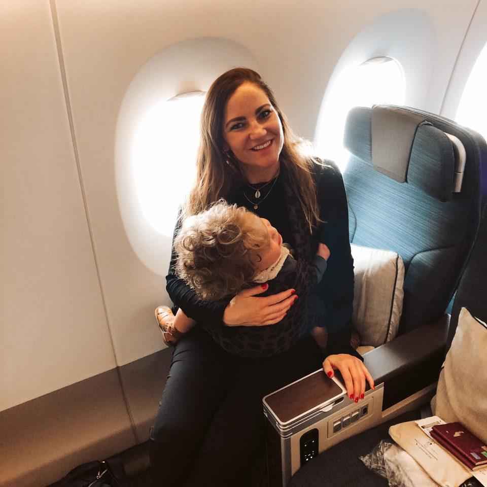 handbagage voor baby inpaklijst vliegtuig