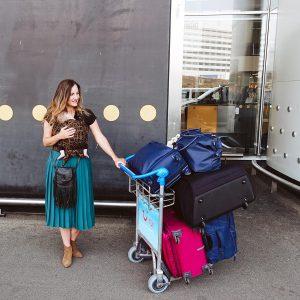 inpaklijst voor vakantie met baby met het vliegtuig
