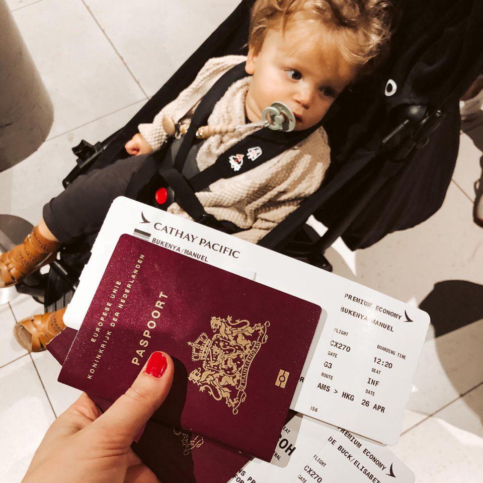 regelen reis met baby