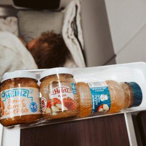 Babyvoeding in het vliegtuig